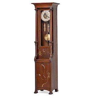 STYLE OF AUGUST ENDELL Art Nouveau case clock