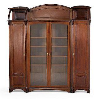 EDOUARD DIOT (Attr.) Massive Art Nouveau cabinet