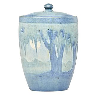 A.F. SIMPSON; NEWCOMB COLLEGE Rare jar