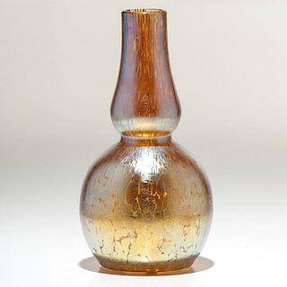 Loetz Candia Papillon Gourd Vase