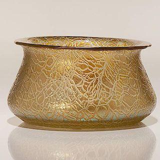 Loetz Candia Mimosa Bowl