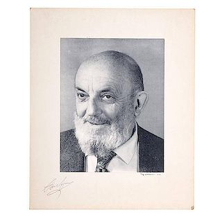 Ansel Adams Polaroid Portrait