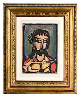 Le Christ, By Georges Rouault