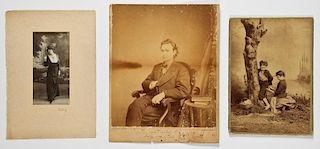 3 Antique Photographs