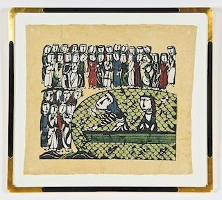 Sadao Watanabe (Japanese, 1913-1996) Woodcut