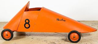 Vintage Soapbox Derby Racer