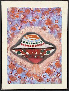 Ionel Talpazan (Romanian/American b. 1955) UFO