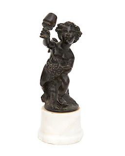 A Bronze Figure of Bacchantes Height 6 3/4 inches.