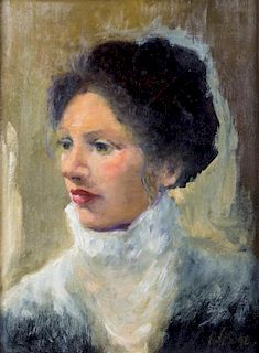 Artist Unknown, (20th century), Portrait of a Woman with White Ruff