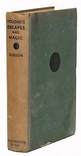 Gibson, Walter. HoudiniНs Escapes and Magic.