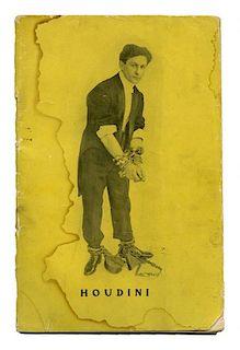 Houdini, Harry. The Adventurous Life of a Versatile Artist [caption title]. [New York], ca. 1906. Or