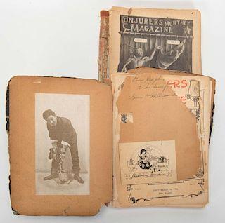 Houdini, Harry. ConjurersН Monthly Magazine [Bess HoudiniНs File]. New York. Monthly. First volume b