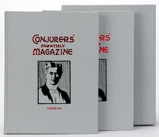 ConjurersН Monthly Magazine. Harry Houdini. Complete file in facsimile, from the limited reprint edi