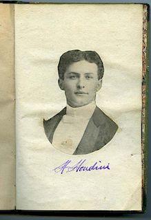 [Houdini, Harry] Decremps, Henri. Codicille de Jerome Sharp [Signed by Houdini]. Paris: J.F. Desoer,
