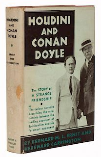Ernst, Bernard and Hereward Carrington. Houdini and Conan Doyle. New York: Albert & Charles Boni, 19