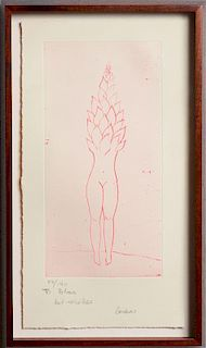 LOUISE BOURGEOIS (1911-2010): UNTITLED