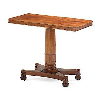 WILLIAM IV MAHOGANY INVALID'S TABLE