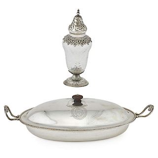 ENGLISH STERLING SILVER GROUP