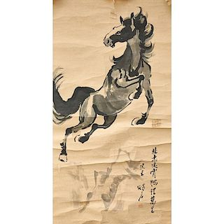 CHINESE PAINTED SCROLLS