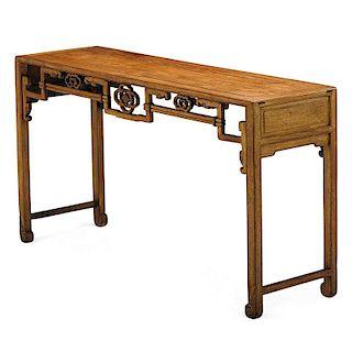 CHINESE HONGMU ALTAR TABLE