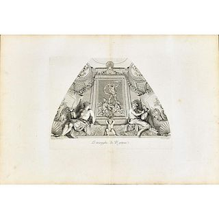 18TH C. PORTFOLIO OF ENGRAVINGS