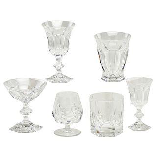 VAL SAINT LAMBERT 'METTERNICH' GLASSWARE