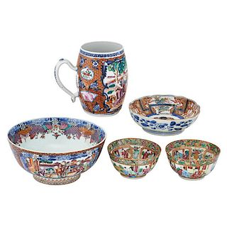CHINESE EXPORT PORCELAIN PIECES