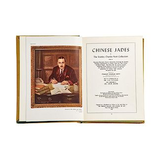 """""""CHINESE JADES"""" BOOK BY STANLEY CHARLES NOTT"""