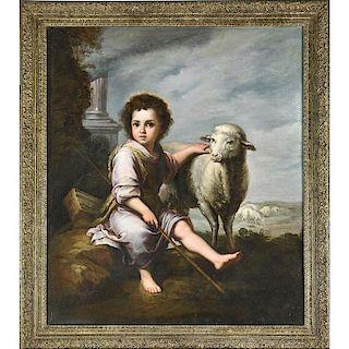 19TH C. CONTINENTAL PORTRAIT