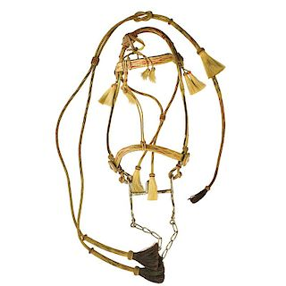 PRISON MADE HORSEHAIR BRIDLE