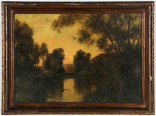 Louis Aston Knight (American, 1873-1948) Twilight Landscape