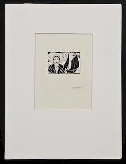 Thornton Oakley (American, 1881-1953) An Original Illustration