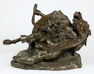 Augusto Rivalta (Italian, 1838-1925) Bronze Statue