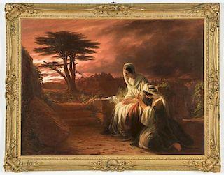 Robert Walter Weir (American, 1803-1889) Two Marys