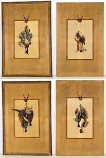 Ludwig August Burckhardt (Swiss, 1807-1878) 4 Works
