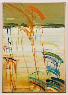 """Berenice D'Vorzon (American) """"Water"""", 1980"""