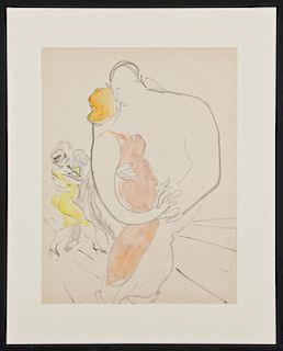 Emlen Pope Etting (American, 1905-1993) Dancers