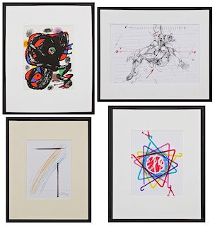 Various Artists from XXE Siecle: Miro, Velickovic, Man Ray, Rosenquist