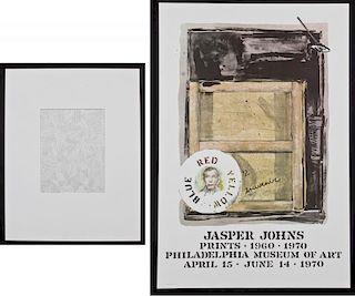 Jasper Johns: 2 Works
