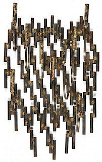 Contemporary Brutalist Wall Candelabra