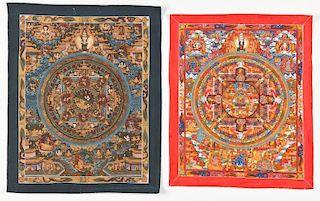 2 Vintage Tibetan Mandalas