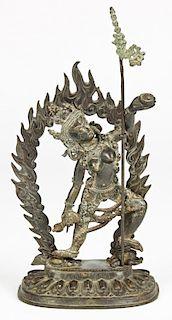Bronze Sino-Tibetan Kali Mata Deity