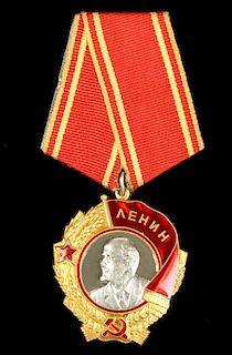 Soviet Platinum/Gold Order of Lenin, Orig. Box