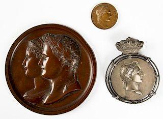 3 Napoleonic Bronzes