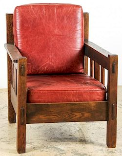Labeled Stickley Brothers Quaint Furniture Co. Chair