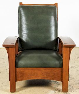 Stickley Audi Cherry Morris Chair