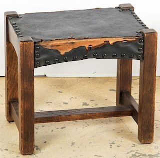 American Arts and Crafts Footstool