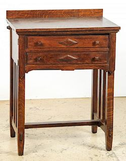 Arts and Crafts Mission Style Desk