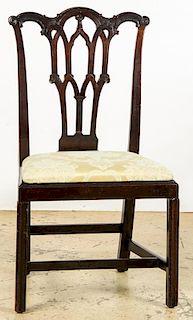 Antique Philadelphia Gothic Side Chair