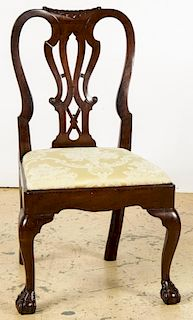 Antique 18th C. Philadelphia Chippendale Chair